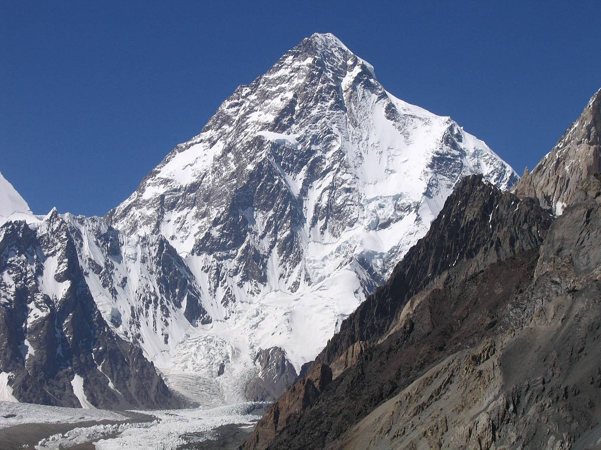 Center for Non-Communicable Diseases - K2 is the second-highest mountain.