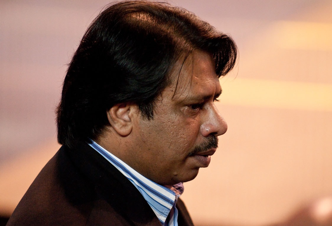 Jahangir Khan, six times winner of the Squash World Open.